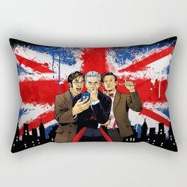 British Tardis Selfie Rectangular Pillow