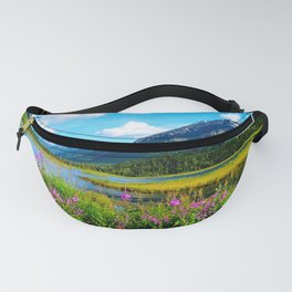 God's Country - Summer in Alaska Fanny Pack