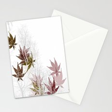 Leaves and Trees Stationery Cards