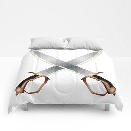 Crossed Cutlasses Comforters