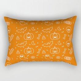 The Halloween Pattern Rectangular Pillow