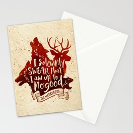 I solemnly swear Stationery Cards