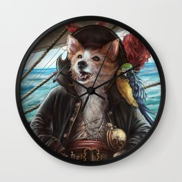 Jean Lafeet Wall Clock