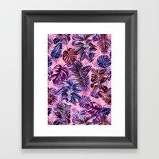 TROPICAL GARDEN VI Framed Art Print
