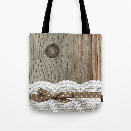 FRENCH LACE Tote Bag