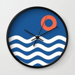 Nautical 03 Seascape Wall Clock