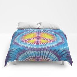 Peace Tie Dye Comforters