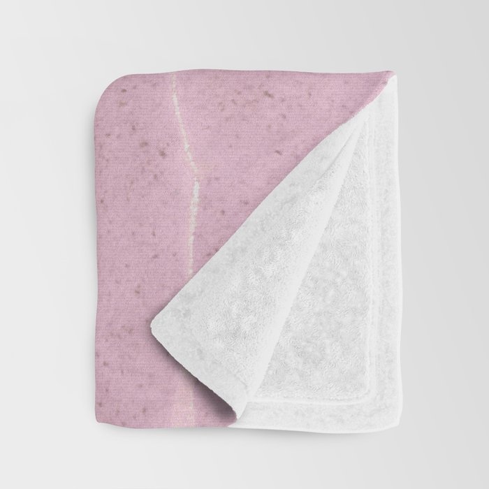 Pink Water Throw Blanket