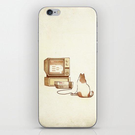 NES Cat  iPhone & iPod Skin