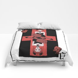 Queen of Hearts Comforters