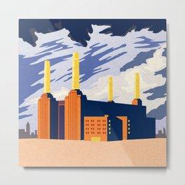 Battersea Metal Print