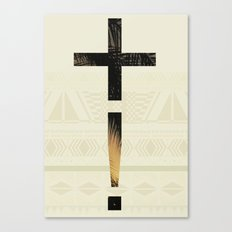 Aztec+ ! Canvas Print