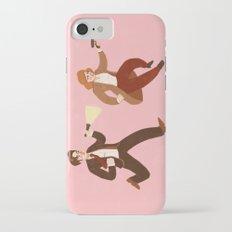 Mulder & Scully iPhone 7 Slim Case