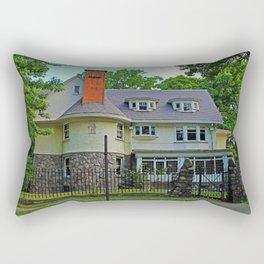 Old West End Edward D Libbey House I Rectangular Pillow