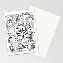 YOU ARE (IV- edition) Stationery Cards