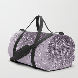 Sparkling Lavender Lady Glitter #2 #shiny #decor #art #society6 Duffle Bag