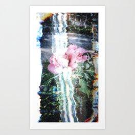 Electronic Nature Art Print