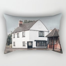Rain storm in England Rectangular Pillow