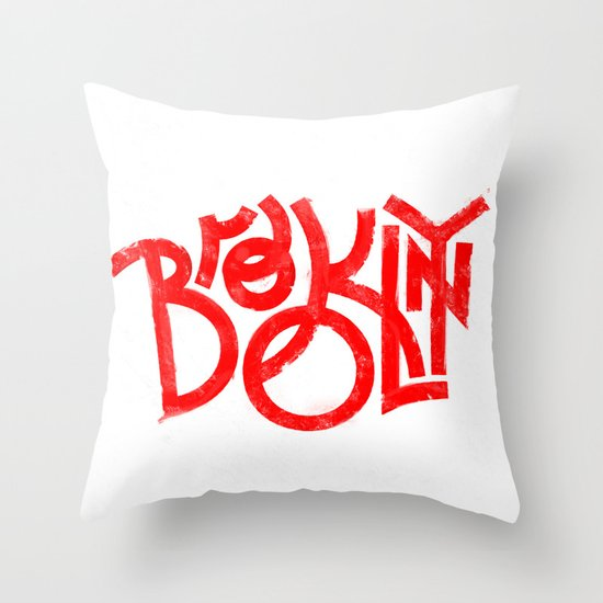 Brooklyn NY Throw Pillow