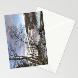 Ladybower sunset Stationery Cards