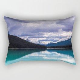 Undo this storm and wait Rectangular Pillow