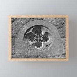 Quatrefoil Window Framed Mini Art Print