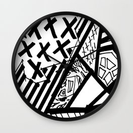 Organised Chaos - BGB Drift Collection Wall Clock