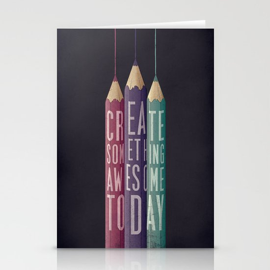 be creative Stationery Cards
