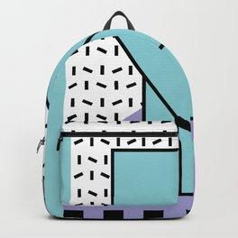 Memphis Pattern - 80s Retro - Pastel Colors Backpack