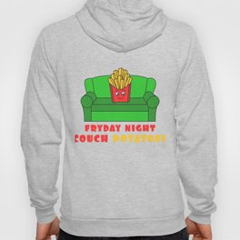 Awesome Trend Design Fryday Tshirt Fryday Night Couch Potatoes Hoody