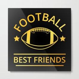 American Football Best Friends II Metal Print