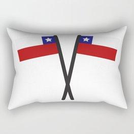 Chile flag Rectangular Pillow