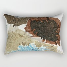 Carbonation Collection: ski Rectangular Pillow