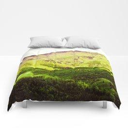 Mountain Near Denali, Alaska Comforters