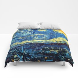 """Vincent van Gogh """"The Starry Night"""" Comforters"""