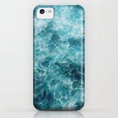 Blue Ocean Waves Slim Case iPhone 5c