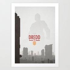 Dredd (2012) Art Print