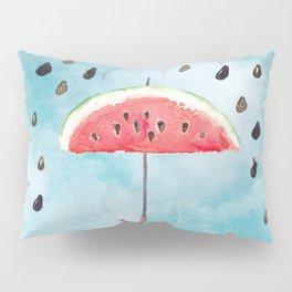 Melon - Fruity Summer Rain Pillow Sham