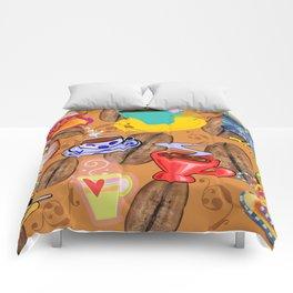 Coffee!, Coffee Art, Coffee Cups Comforters