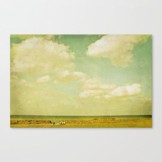 beach viewing Canvas Print