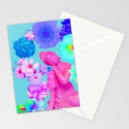 Pink Buddha Stationery Cards