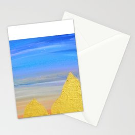 Gold Skies Stationery Cards