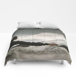 Surf grey photo Comforters