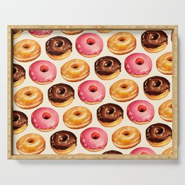Donut Pattern Serving Tray