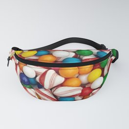 Peppermints and Gumballs Fanny Pack