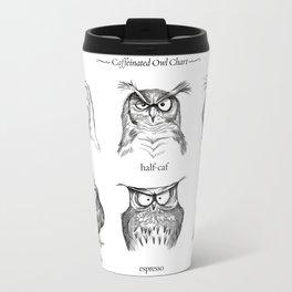 Caffeinated Owls Travel Mug
