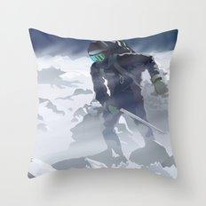 Iceman Throw Pillow