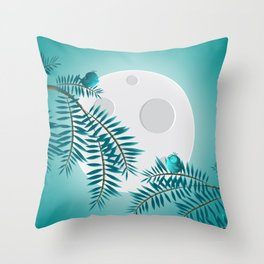 moonlog Throw Pillow