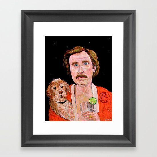 """Stay Classy"" Framed Art Print"