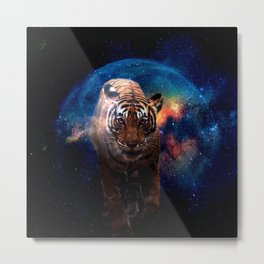 Tiger Power Animal  Metal Print